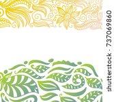 nature background. vector... | Shutterstock .eps vector #737069860