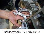 metal parts | Shutterstock . vector #737074510