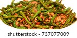 Chinese Dried Fried String Beans