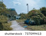 Abandoned Gas Station In The...
