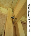Small photo of wood construction detail