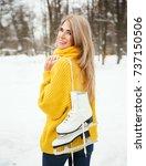 Winter Lifestyle Portrait Of...