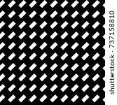 black diagonal dashes abstract... | Shutterstock .eps vector #737158810