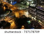 the brickell area of downtown... | Shutterstock . vector #737178709