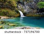 Lake Blue Eye In The Albanian...