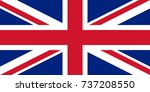 united kingdom flag  the... | Shutterstock .eps vector #737208550