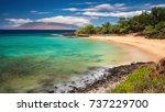 little beach  maui  hawaii   Shutterstock . vector #737229700