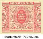 old label design  badge for... | Shutterstock .eps vector #737237806