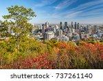 montreal  canada   18 october... | Shutterstock . vector #737261140