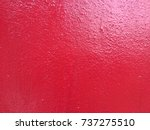 red cement wall texture backdrop | Shutterstock . vector #737275510