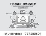 flat line vector editable... | Shutterstock .eps vector #737280604