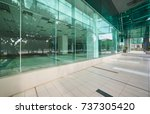 Exterior Of A Modern Steel  And ...