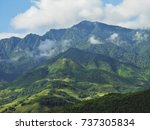 beautiful landscape in sapa ...   Shutterstock . vector #737305834