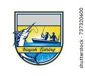 retro badge style illustration... | Shutterstock .eps vector #737320600