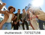 business  education and... | Shutterstock . vector #737327158
