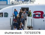 moscow region  russia   circa... | Shutterstock . vector #737335378