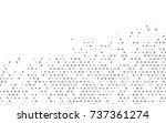 light silver  gray vector...   Shutterstock .eps vector #737361274