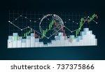 digital 3d rendered stock... | Shutterstock . vector #737375866