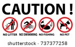 warning caution sign  vector