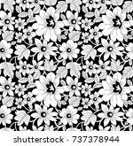 indian motif vector | Shutterstock .eps vector #737378944
