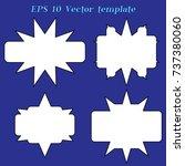 simple label | Shutterstock .eps vector #737380060