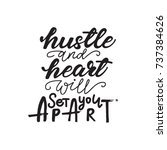 "lettering layout ""hustle and... 