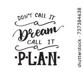 "vector lettering ""don't call it ... 