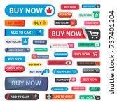 online store sale vector web... | Shutterstock .eps vector #737401204