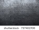 vintage industrial background ... | Shutterstock . vector #737401930