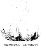 vector grunge background black... | Shutterstock .eps vector #737408794