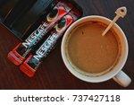 kuala lumpur  malaysia  ... | Shutterstock . vector #737427118