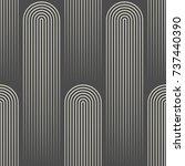 seamless lined wallpaper.... | Shutterstock .eps vector #737440390