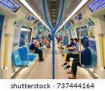 kuala lumpur  malaysia  ... | Shutterstock . vector #737444164