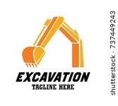 Excavator   Excavation Logo ...