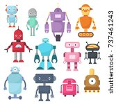 Cute Cartoon Robots  Android...