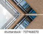 abstract image of glass and... | Shutterstock . vector #737466070