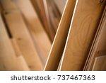 Close Up Of Plywood Sheets
