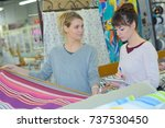 buying wholesale cloth   Shutterstock . vector #737530450