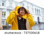 portrait of a smiling teenage...   Shutterstock . vector #737530618