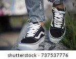 milan  italy   september 28 ... | Shutterstock . vector #737537776