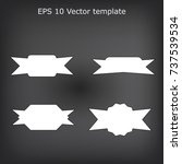 simple label style | Shutterstock .eps vector #737539534