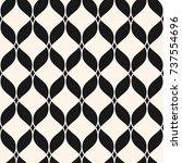 ornamental mesh seamless...   Shutterstock .eps vector #737554696