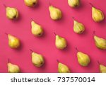 colorful fruit pattern of fresh ... | Shutterstock . vector #737570014
