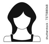 new woman user icon. simple...