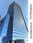 Small photo of Office tower in the Hudson Yards in Manhattan, New York City