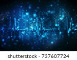 medical abstract background ... | Shutterstock . vector #737607724