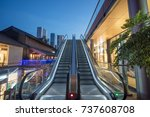 Escalator At Outdoor