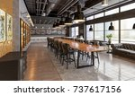 banqueting hall in the...   Shutterstock . vector #737617156