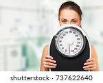 dieting. | Shutterstock . vector #737622640