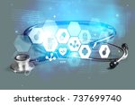 attributes. | Shutterstock . vector #737699740